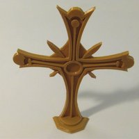 Small Christian Cross 3D Printing 48133