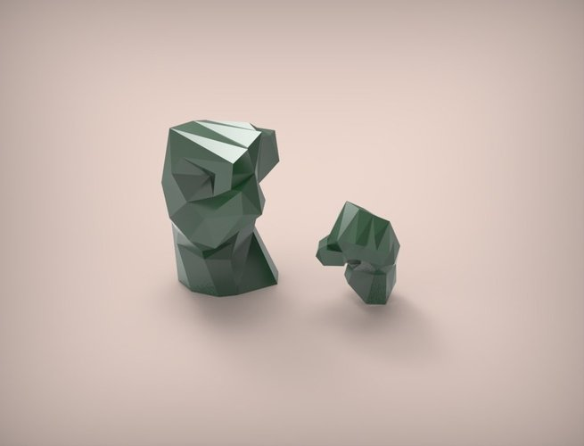Hulk Hands - Left and Right Mirrored 3D Print 48144