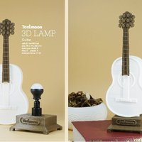 Small guitar lamp 3D Printing 48211