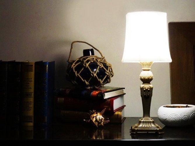 3d printed guitar lamp by toolmoon pinshape guitar lamp 3d print 48212 aloadofball Gallery