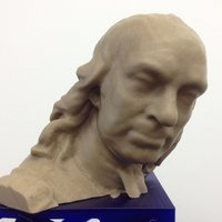 Small Oliver Cromwell bust 3D Printing 48245