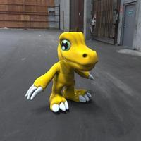 Small Toy Digimon Agumon 3D Printing 48257