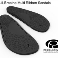 Small Palmiga Stimuli-Breathe Multi Ribbon Sandals 3D Printing 48267