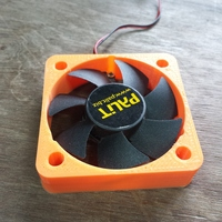Small Gpu 50mm Fan Adpater 3D Printing 48347