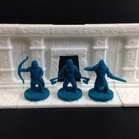 Small Viking Warband Part 1 (18mm scale) 3D Printing 48399