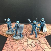 Small Dominion Task Force (28mm scale) 3D Printing 48422