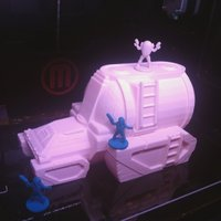 Small Freespace Colonial Tanker 3D Printing 48456