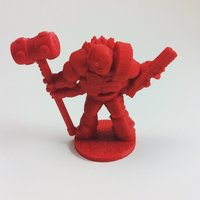 Small Wayfarer Miniatures: Scilinoid Soldier (28mm and 18mm scale) 3D Printing 48457