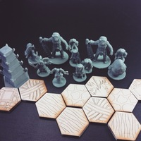 Small Pocket-Tactics: Night Parade of the Yokai 3D Printing 48502
