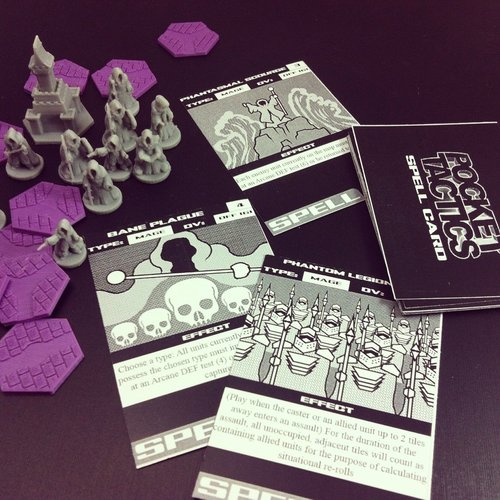 Pocket-Tactics: Mages Guild 3D Print 48511