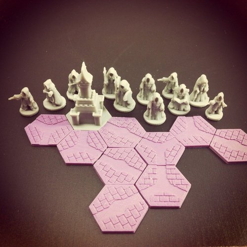 Pocket-Tactics: Mages Guild 3D Print 48516