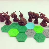 Small Pocket-Tactics: Trolls of Jotunheim 3D Printing 48536