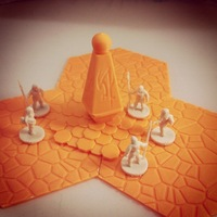 Small Alien Monument 3D Printing 48541