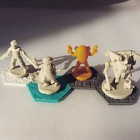Small Pocket-Tactics: Legendary Bounty Hunters (Series 1) 3D Printing 48542