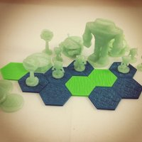 Small Pocket-Tactics: Cosmic Invaders 3D Printing 48547