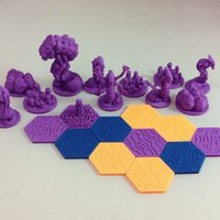 Small Pocket-Tactics: Quanar Night Cult 3D Printing 48552