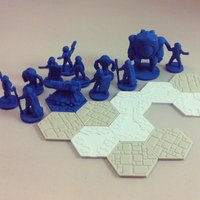 Small Pocket-Tactics: Dominion Task Force 3D Printing 48553
