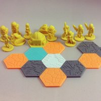 Small Pocket-Tactics: United Separatist Militia 3D Printing 48556