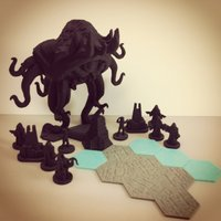 Small Pocket-Tactics: Cult of the Stygian King 3D Printing 48560