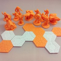 Small Pocket-Tactics: Cybernetic Liberation Front 3D Printing 48575
