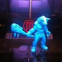 Small Asterion, the Minotaur 3D Printing 48596