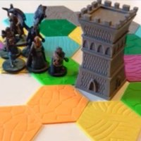 Small Drakendar Tabletop Roleplaying Map Tiles 3D Printing 48610