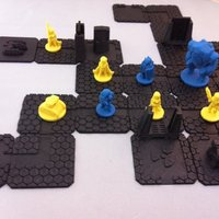 Small Scifi Quest Tiles 3D Printing 48648