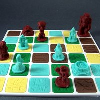 Small ZoneS: Saga of the Nine Worlds 3D Printing 48680