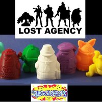 Small Squigglepeeps: The Lost Agency (Series 1) 3D Printing 48681