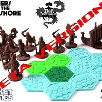 Small Pocket Tactics: Raiders from the Far Shore 3D Printing 48698