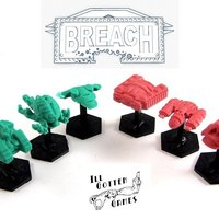 Small Breach: Starships Series 2 3D Printing 48720