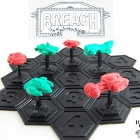 Small Breach: Starship Duels 3D Printing 48722