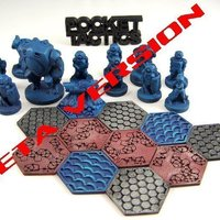 Small Pocket-Tactics: Dominion Strike Force 3D Printing 48727