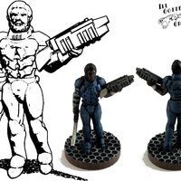 Small Henry Cobb, 15mm, 28mm and 54mm Miniature 3D Printing 48744