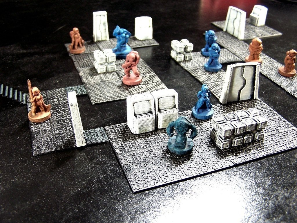 picture regarding 3d Printable Dungeon Tiles titled 3D Published Modular Dungeon Tiles: Main Fixed by way of Dutchmogul