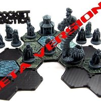 Small Pocket-Tactics: Elves of the Shining Host 3D Printing 48780