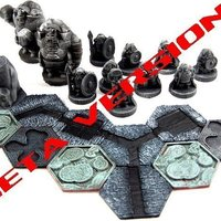 Small Pocket-Tactics: Dwarves of the Mountain Holds 3D Printing 48825