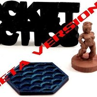Small Pocket-Tactics: Blood Sea Reaver 3D Printing 48851