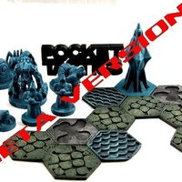 Small Pocket-Tactics: Wizzards of the Crystal Forest (Beta Version) 3D Printing 48862