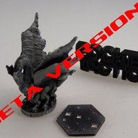 Small Pocket-Tactics: Void Dragon 3D Printing 48886