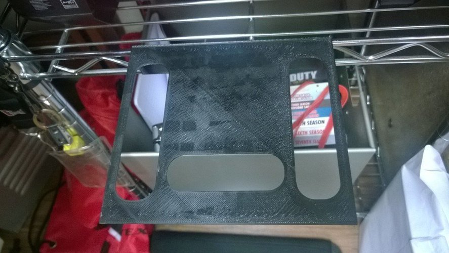 3D Printed standard Non 3D Printer stand for metal racks by