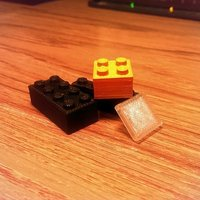 Small Assorted LEGO 3D Printing 49238