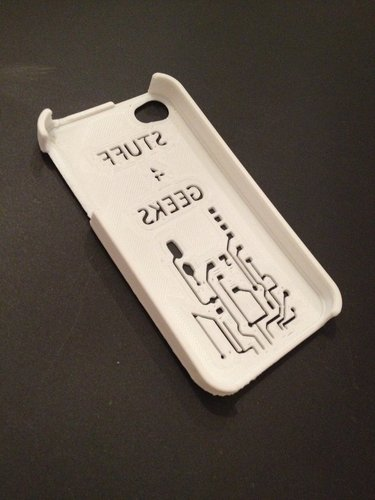Stuff 4 geeks IPhone 4S case 3D Print 49335