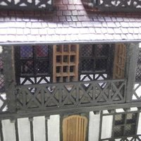 Small SCALEPRINT WINDOW SHEET FOR TUDOR WINDOWS 3D Printing 49466