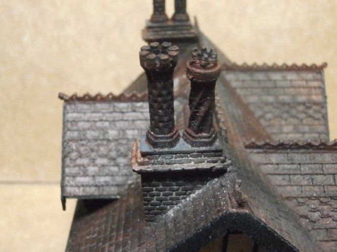 SCALEPRINT TUDOR BUILDING SMALL TAVERN 3D Print 49472
