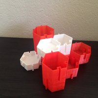 Small GroupHex : An Organizable Organizer 3D Printing 49541