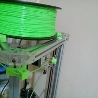 Small Filament guide for Kossel 2020 3D Printing 49689