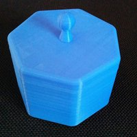 Small 7-sided box with top 3D Printing 49757
