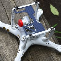 Small DJI Phantom 3 gimbal camera guard template 3D Printing 50018