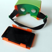 Small Google Cardboard kit upgrade 3D Printing 50103